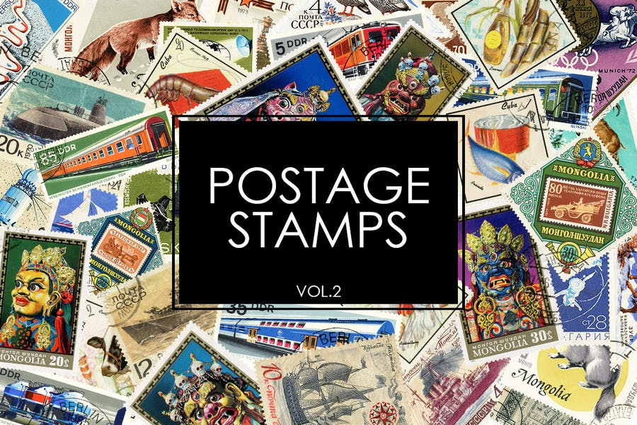 Postage Stamps vol.2