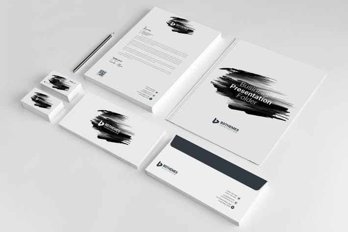 Thumbnail for Business Stationery Template 12