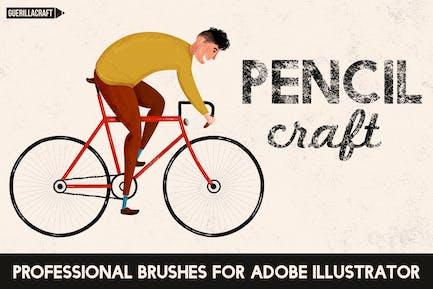 Pencilcraft - Pinceles para Adobe Illustrator