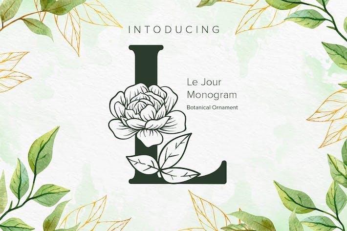 Thumbnail for Fuente de Monogram de Le Jour