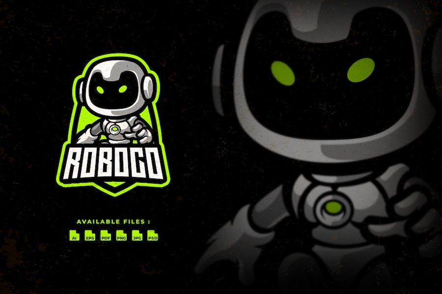 Roboco Cartoon Logo