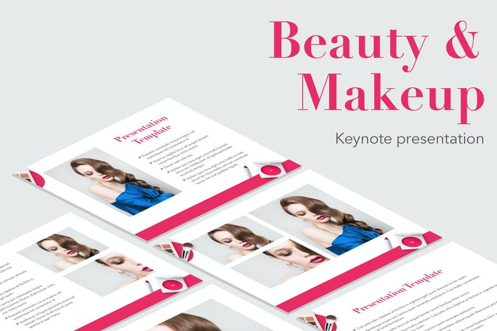 Thumbnail for Beauty & Makeup Keynote Theme