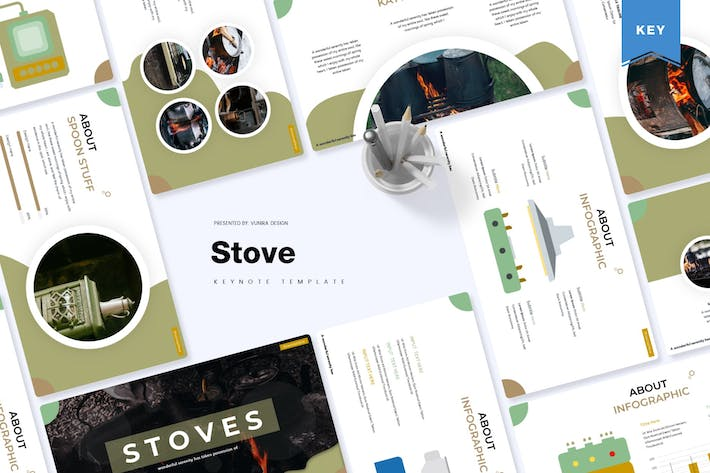Thumbnail for Stove | Keynote Template