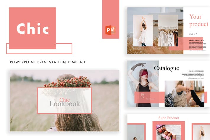 Thumbnail for Chic Powerpoint Template