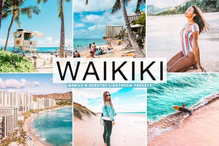 Thumbnail for Waikiki Mobile & Desktop Lightroom Presets