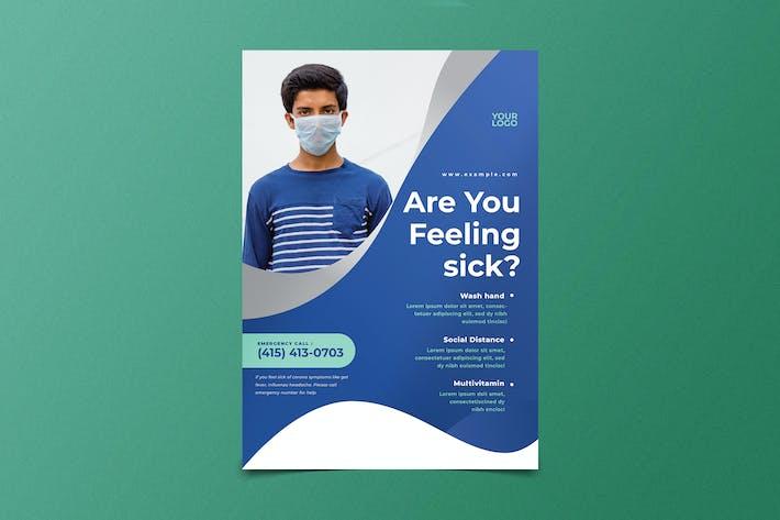 Thumbnail for Virus Medical Flyer