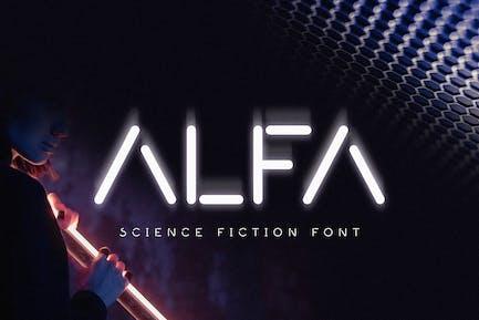 Alfa - Fuente Minimal Ciencia