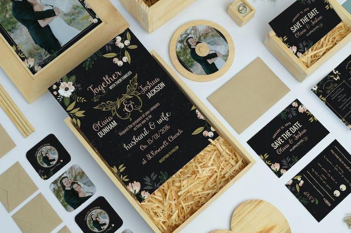 Thumbnail for Nature Wedding Invitation Pack