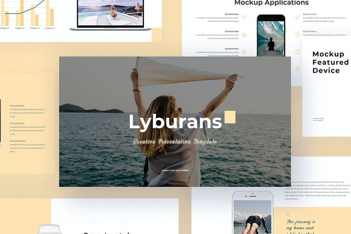 Thumbnail for Lyburan - Creative Google Slide Presentation