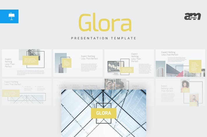 Thumbnail for Glora - Keynote Template