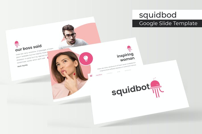 Thumbnail for Squidbod - Google Slide Template