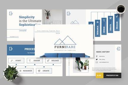 Futurare - Furniture  Google Sldies Presentation