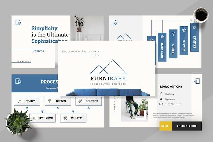 Thumbnail for Futurare - Furniture  Google Sldies Presentation
