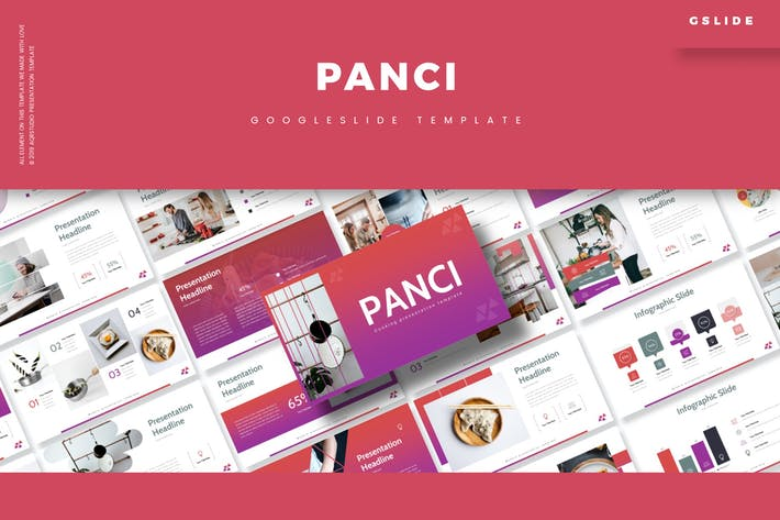Cover Image For Panci - Google Slide Template