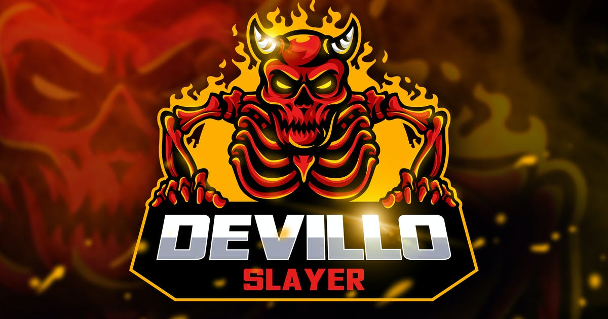 Download Devillo Slayer - Mascot & Esport Logo by aqrstudio