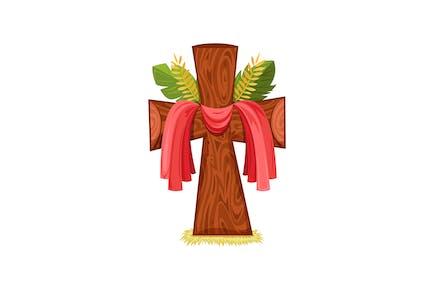 Lent Wooden Cross