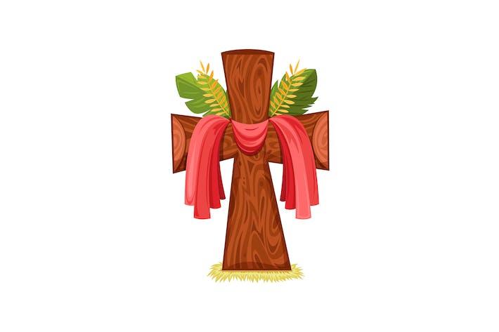 Thumbnail for Lent Wooden Cross
