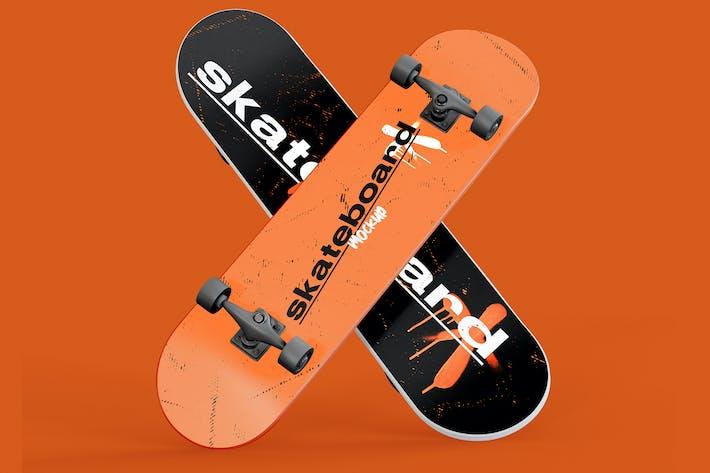 Thumbnail for Duas Mockups de Skate