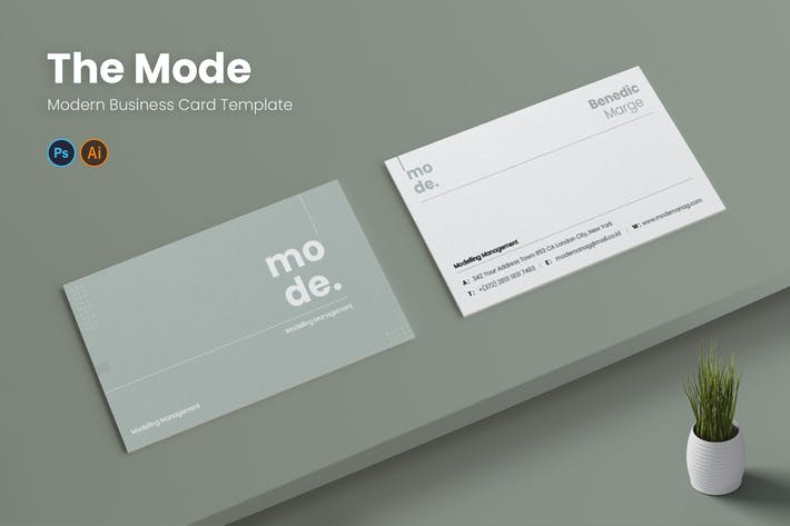 Thumbnail for Mode Management Business Card