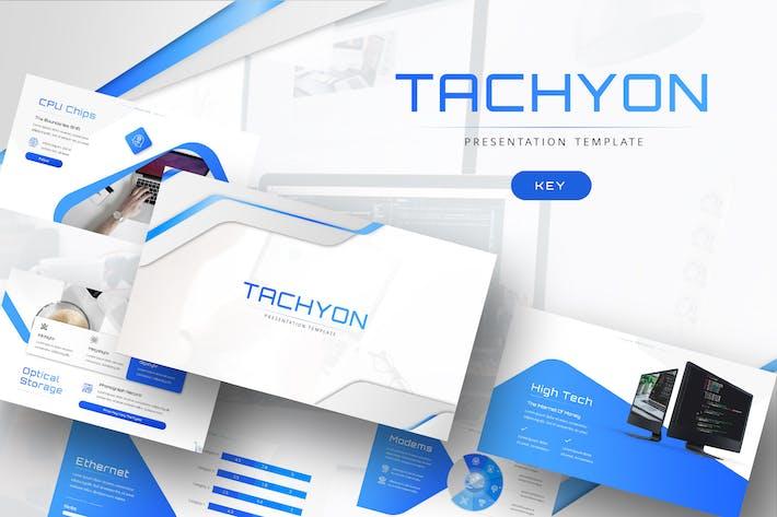 Tachyon - Шаблон Keynote ИТ-компании