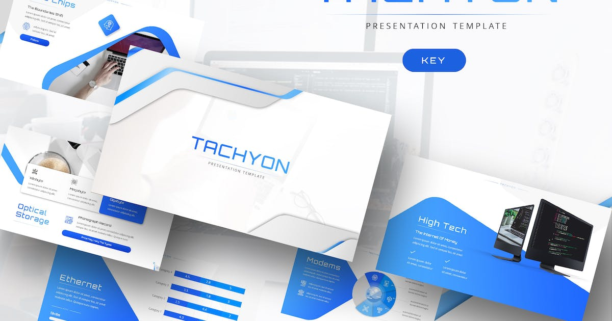 Download Tachyon - IT Company Keynote Template by maghrib