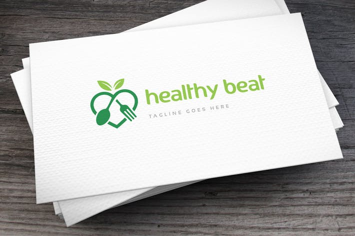 Thumbnail for Healthy Beat Logo Template
