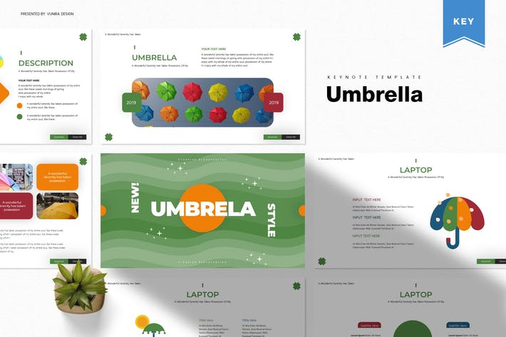 Thumbnail for Umbrella | Keynote Template
