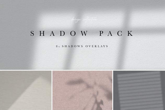 Shadow Overlay Bundle - Scandinavian Series Vol. 1
