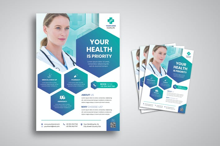Health Medical Flyer