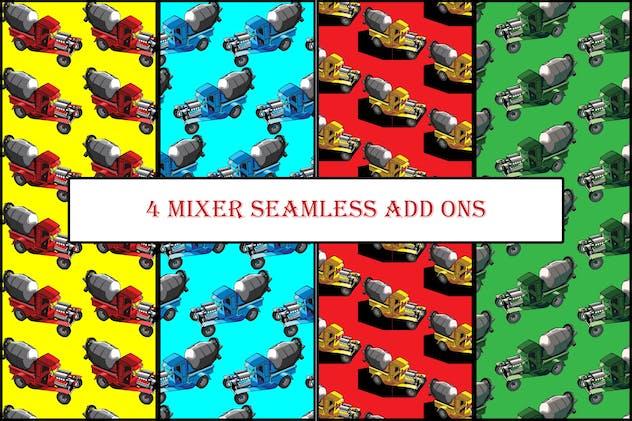 4 Mixer seamless add ons