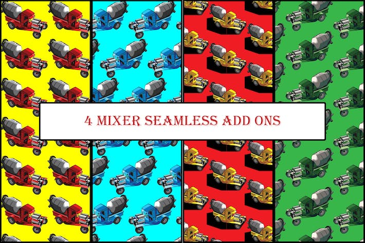 Thumbnail for 4 Mixer seamless add ons