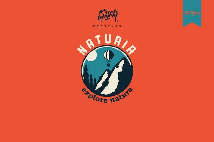 Naturia Logo Template