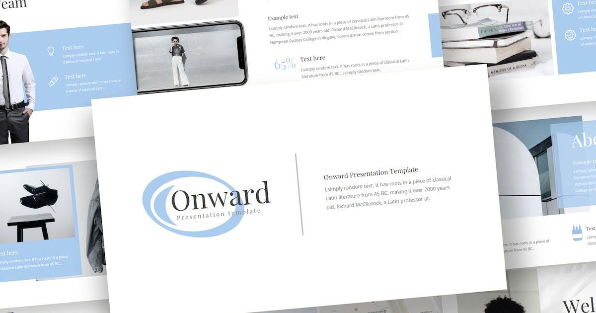 Download Onward - Keynote Template by inspirasign