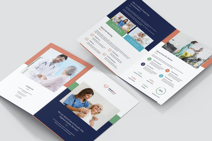 Thumbnail for Brochure – Senior Care Bi-Fold