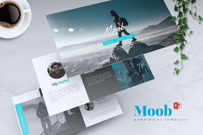 MOOB - Creative Powerpoint Template
