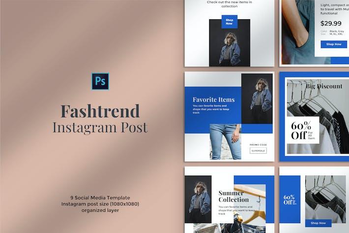 Thumbnail for Fashtrend Instagram Post