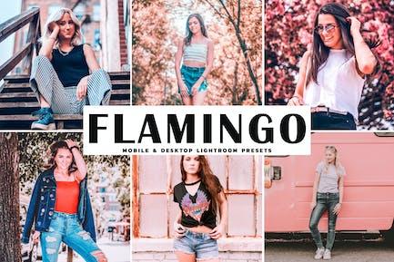 Flamingo Mobile & Desktop Lightroom Presets