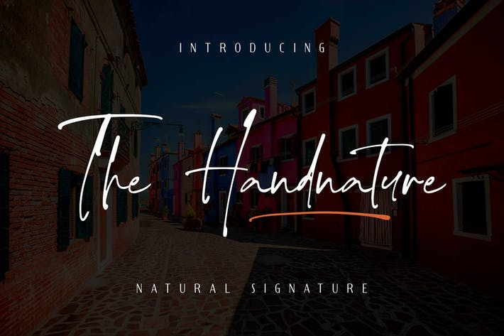 Thumbnail for The handnature - Natural Signature