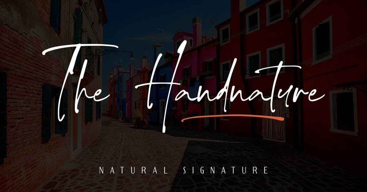 Download The handnature - Natural Signature by Alterzone