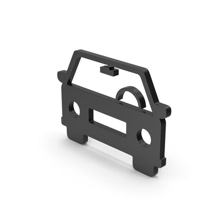 Symbol Auto Schwarz