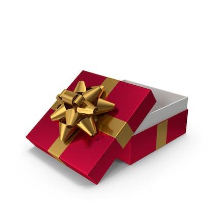 Caja de regalo con lazo