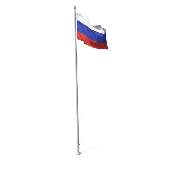 Thumbnail for Флаг на полюсе России