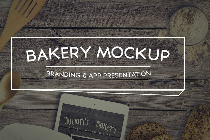 Thumbnail for Bakery Mockup