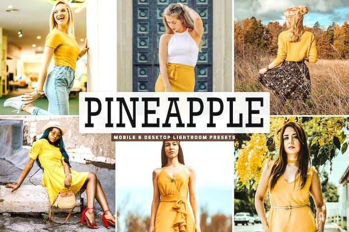Thumbnail for Pineapple Mobile & Desktop Lightroom Presets