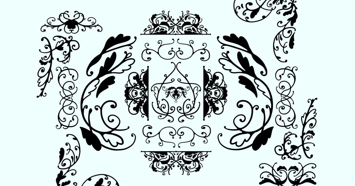 Download Ink Ornaments by Jumsoft