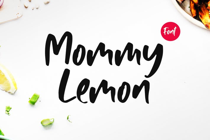 Thumbnail for Mommy Lemon - Fun Typeface