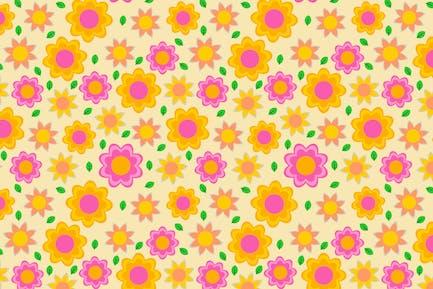 Beauty Flower Patterns