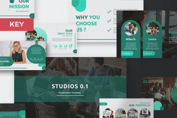 Cover Image For Studio 1.0 Keynote Template
