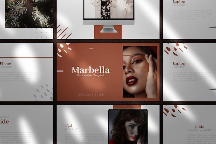Thumbnail for Marbella - Premium Google Slides Template