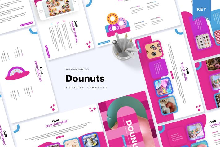 Thumbnail for Dounuts | Keynote Template